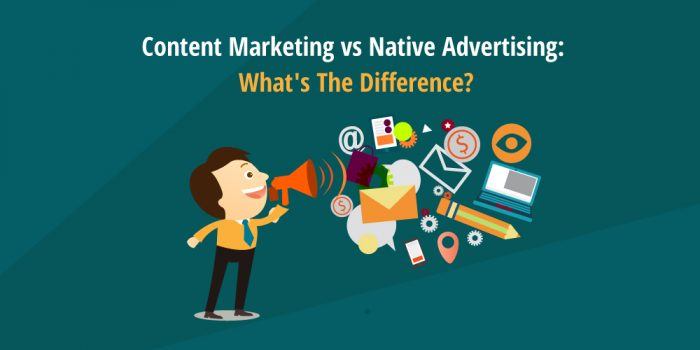 content mkting vs native advertising